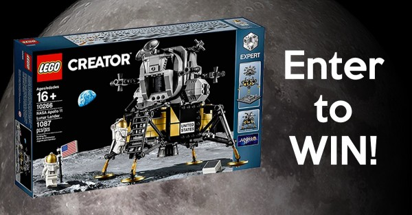 Win LEGO NASA Apollo 11 Lunar Lander Set
