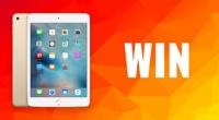 Win an Apple iPad (Wi-Fi, 32GB)