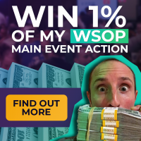 Win up to $100,000 from a Pro Poker Player's Winnings