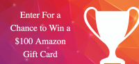 Rate our App - Win a $100 Amazon Gift Card