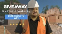 Win ONE Year of Bookkeeping Services!