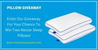 Nectar Sleep Pillow Giveaway