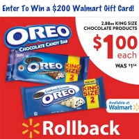 $200 Walmart Gift Card Giveaway