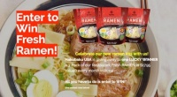 Win a 3 Pack of Resturant Fresh Ramen