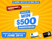 Win $500 Cash Giveaway