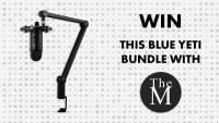 Blue Yeti Studio Bundle With The MALESTROM Giveaway