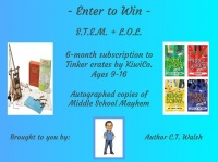 Win a 6-month subscription of Tinker Crates