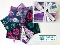 Win a fat quarter bundle of Daisy Chain fabric by Banyan Batiks