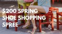 $200 Shoe Shopping Spree