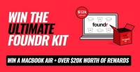 Win a Macbook Air + ALL of Foundr's Courses