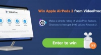 Win Apple AirPods 2 and VideoProc V3.3 Full License!