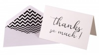 Win Thank You Cards + Self-Adhesive Envelopes 10's