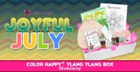 Joyful July Coloring Giveaway