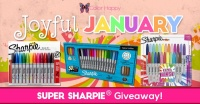 Joyful January Super Sharpie Giveaway