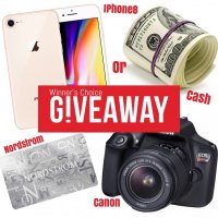Win an iPhone, $900 Gift Card or $800 PayPal Cash