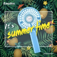 EasyAcc Handheld Fan Giveaway