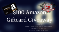 $100 Amazon Giftcard Giveaway