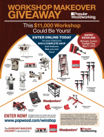 2019 Workshop Makeover Giveaway
