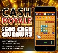 $500 Cash Royale Giveaway - Block Puzzle Game