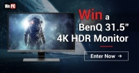 BenQ 31.5″ 4K HDR Monitor Giveaway
