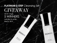 Platinum 2-Step Cleansing Kit Giveaway