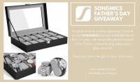 SONGMICS Father's Day Watch Box Giveaway