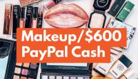 WIN a Makeup Bundle/$600 PayPal Cash