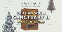 Win a Clearlight Sanctuary 2 Infrared Sauna