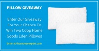 Coop Home Goods Eden Pillow Giveaway