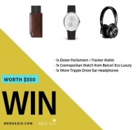 Ultimate Modern Man Lifestyle Giveaway!