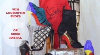 Win Louboutin Red Bottom Shoes or $1000 Cash Equivalent!
