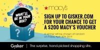 $200 Macy's Voucher Giveaway