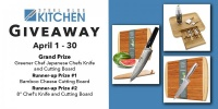Win Japanese Chefs Knife And Cutting Board