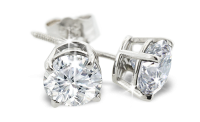 1 Carat Diamond Stud Earrings Giveaway