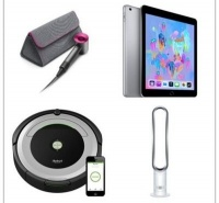 WIN iPad OR Dyson Fan OR Dyson Hairdryer OR iRobot!