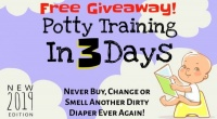 Potty-train your kid in 3 days Giveaway