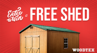 Win a Woodtex Shed!