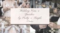 Win Custom Written Wedding Vows or Wedding Speech