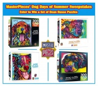 Win a Set Of 4 MasterPieces' Dean Russo Jigsaw Puzzles