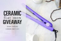 Ceramic Flat Iron Giveaway