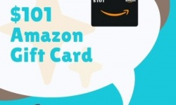 $101 Amazon Gift Card Giveaway