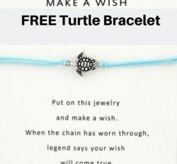 Free Turtle Bracelet