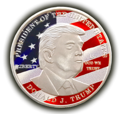 Get A Free Donald Trump Commemorative Coin