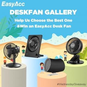 Win An EasyAcc Desk Fan