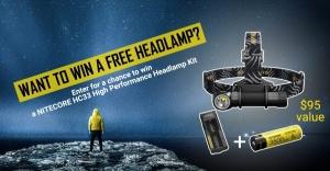 NITECORE HC33 Headlamp Giveaway