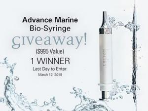 Advanced Marine Bio-Syringe Giveaway