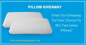 Leesa Pillow Giveaway