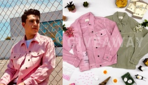 $100 Pink/Green Denim Jacket Giveaway