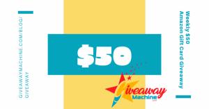 $50 Amazon Giftcard