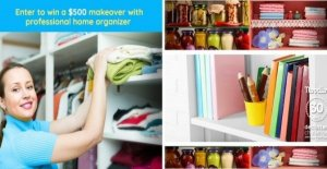 Win A $500 Home Makeover From A Professional Organizer